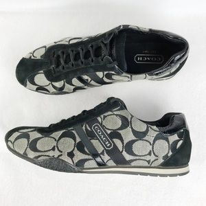Coach   Katelyn Signature C Logo Sneakers Size 8